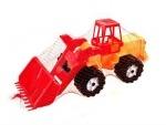 Трактор Шустрик-скрапер №2