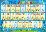 Плакат «Английская азбука» (прописная)