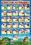 Плакат «Английская азбука» (печатный)