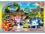 """Пазли ТМ """"G-Toys"""" із серії """"Робокар Поллі"""""""