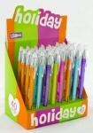 """Ручка гелевая """"Holiday"""" 0,5мм, микс цветов"""