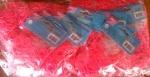 Резиночки для плетения (600 рез.), розовые