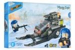 Конструктор BANBAO военный снегоход