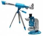 Детский микроскоп + телескоп