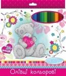 Карандаши 24 цветов для девочек