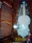 Скрипка от батареек со светом