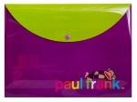 "Папка-конверт на кнопке А4 ""Пол Франк """