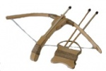 Деревянный арбалет 55см, буковый