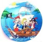 Тарелка бум Пираты