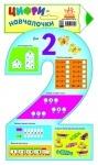 Цифри-навчалочки : Цифра 2 (у)