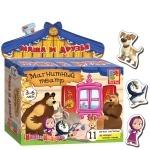 Магнитный театр .Маша и друзья Маша и Медведь