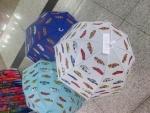 Зонт машинки, матовая клеенка