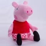 "Мягкая игрушка Свинка ""Пеппа"" 25 см"