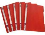 Скоросшиватель, пластиковый А4, красный