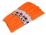 Гофрированная бумага (оранжевая) №3