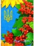 """Блокнот в клетку """"Мой дом - Украина"""", 160 листов"""