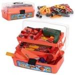 Набор детских инструментов с дрелью в чемодане