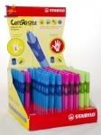 Ручка шариковая для правши зеленая STABILO