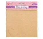 Рисовая бумага, желтая, 50*70 см