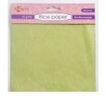 Рисовая бумага, зеленая, 50*70 см