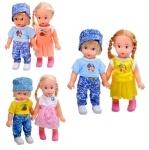 Набор кукол мальчик и девочка