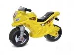 Детская Каталка мотоцикл Орион, желто-голубой