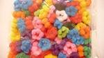 Резинка цветная 1, в уп. 100 шт.