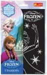"""Гравюра """"Эльза с поднятыми руками"""". Frozen"""