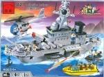 Конструктор Брик Военный корабль