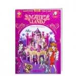 """Книга дитяча """"Книжка-іграшка. MAGIC LAND Замок Монстрес"""""""