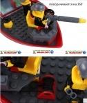 "Конструктор   ""Пожарная охрана"" ТМ Brick"
