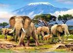 """Пазлы """"Слоны"""""""