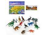 Набор динозавров, 12шт, игровое поле
