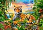 """Пазлы """"Тигр"""""""
