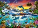 "Пазлы 300 ""Дельфины"""