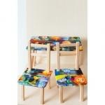 """Столик и 2 стула """"Фиксики"""""""