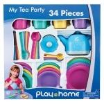 "Набор посудки ""Чаепитие"", 34 предмета"