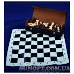 Шахматы в футляре (деревянные фигуры)