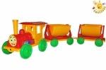 Конструктор-поезд с 2 прицепами