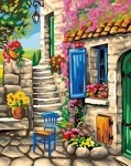 Раскраска по номерам Патио (акрил)