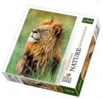Пазлы Trefl, Nature, Лев, Кения, 1000 деталей