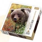 Пазлы Trefl, Nature, Гризли, Аляска, 1000 деталей
