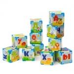 Азбука на 12 кубиках маленьких