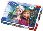 Пазлы Trefl, Disney, Frozen, Анна и Эльза, 100 деталей