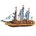 Конструктор AUSINI фрегат, 857 деталей