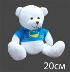 Медвежонок Патриот (сердце-флаг)