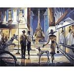 """Картина Идейка """"Прогулка по Парижу"""""""