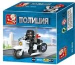 Конструктор SLUBAN  полиция