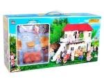 Уютный домик с комплектом мебели Happy family