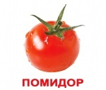 """Карточки мини русские с фактами, ламинированые, """"Овощи"""""""